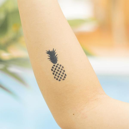 Pina by inkbox is a Food & Drink temporary tattoo from inkbox - 0
