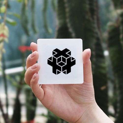 Plusetric by Guifré Urgell Tasies is a Geometric temporary tattoo from inkbox - 0
