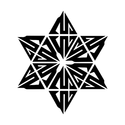 Purusha by Colin Jenkins is a Geometric temporary tattoo from inkbox - 1