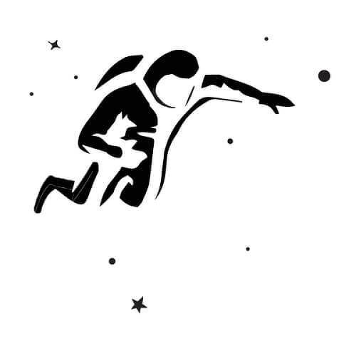 Ride by inkbox tattoos is a Space temporary tattoo from inkbox - 1