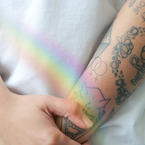Rivera by inkbox is a Self-Love temporary tattoo from inkbox - 0