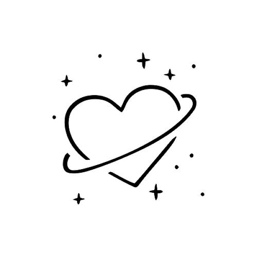 9012fb5b6 Sayari by Martith is a Hearts temporary tattoo from inkbox