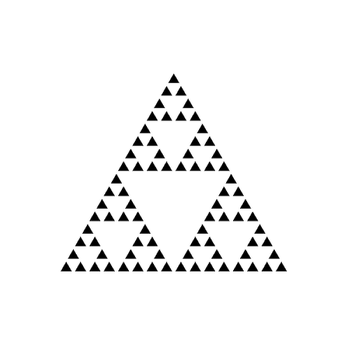Sierpinski by Kathryn Chan is a Geometric temporary tattoo from inkbox - 1