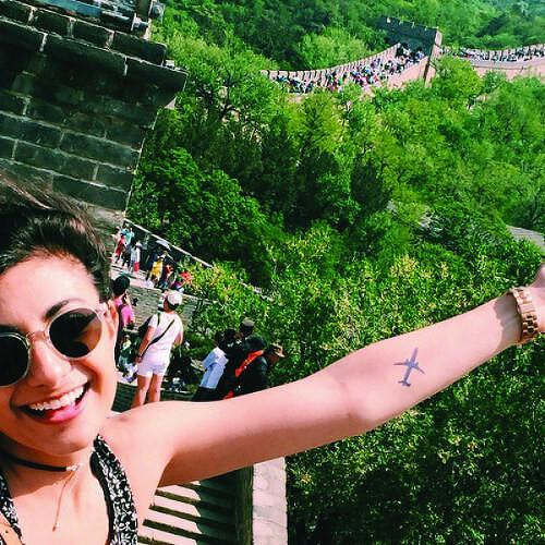 Sortova by Jaimie Hallarn is a Travel temporary tattoo from inkbox - 2