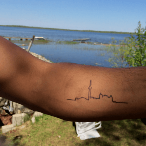 Toronah by inkbox is a Travel temporary tattoo from inkbox - 3