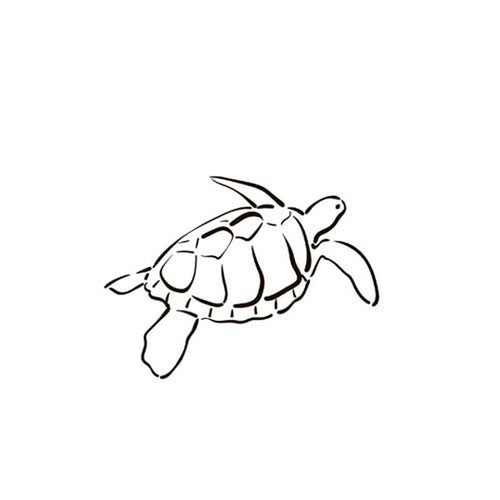 Tortuga by Dimitri Fursenko is a Animals temporary tattoo from inkbox - 5