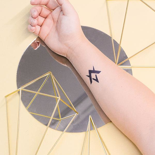 6860d7501 Trella by inkbox is a Arrows temporary tattoo from inkbox