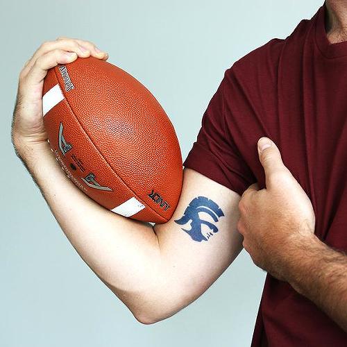 Semi-Permanent Football Tattoos Tattoos by inkbox™ - Inkbox™