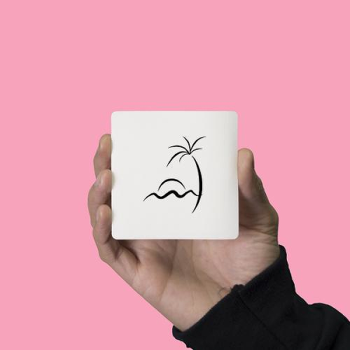 Tropski by Mikie Jae is a Minimal temporary tattoo from inkbox - 1