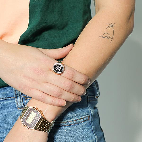 Tropski by Mikie Jae is a Minimal temporary tattoo from inkbox - 0
