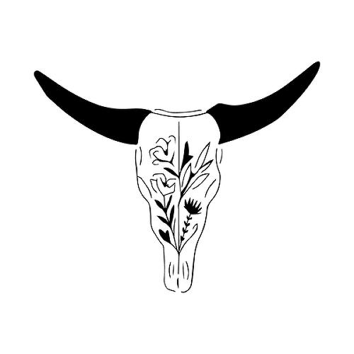 Semi Permanent Bull Tattoos Tattoos By Inkbox Inkbox