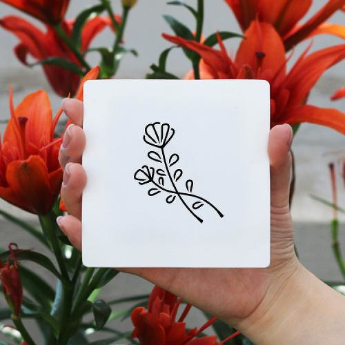 Vesna by Xixi Wang is a Flowers temporary tattoo from inkbox - 1