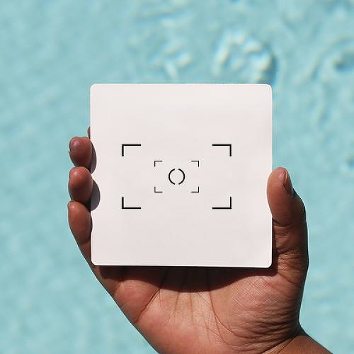 Viewfinder by Kristine Vodon is a Minimal temporary tattoo from inkbox - 0