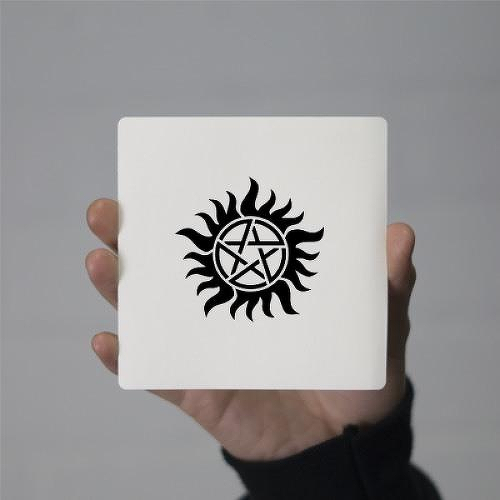 Winchester by Miguel Romero is a Gaming & Fandom temporary tattoo from inkbox - 1
