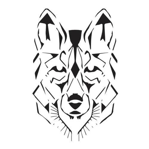 Wulfaz by inkbox is a Animals temporary tattoo from inkbox - 3