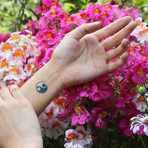 Zou Yan by inkbox is a Spiritual temporary tattoo from inkbox - 0