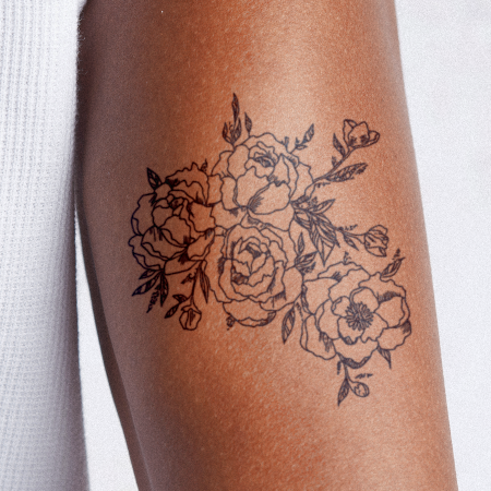 Fragile Botany by Britney Olivares is a Flowers temporary tattoo from inkbox - compliment