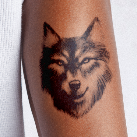 Asher by inkbox is a Animals temporary tattoo from inkbox - main