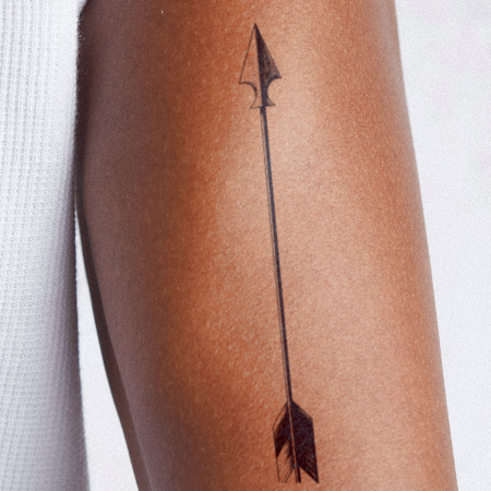 Straight Shooter by inkbox is a Arrows temporary tattoo from inkbox - compliment